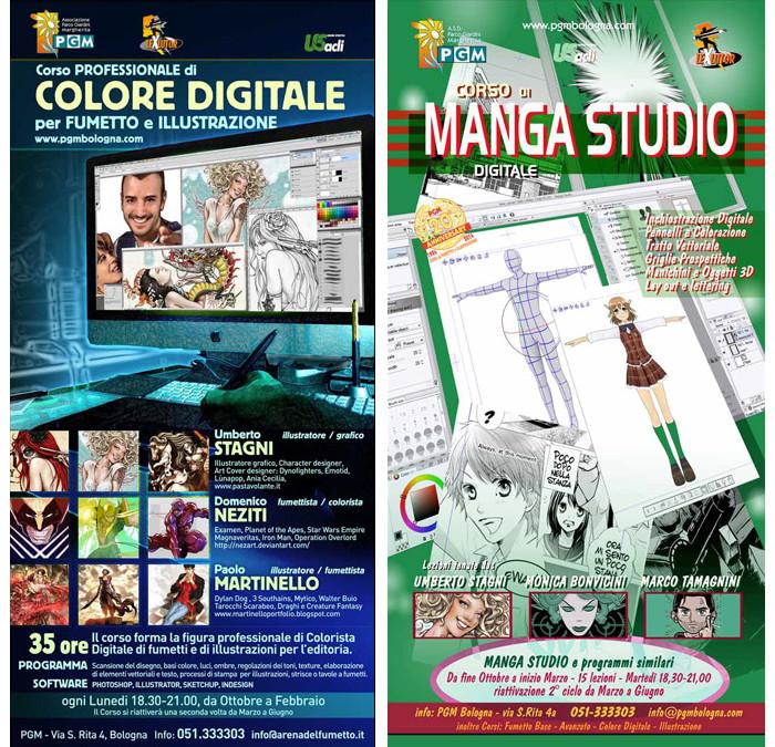 Colore Digitale – Manga Studio