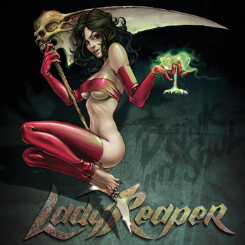 Lady Reaper Art Cover Cd