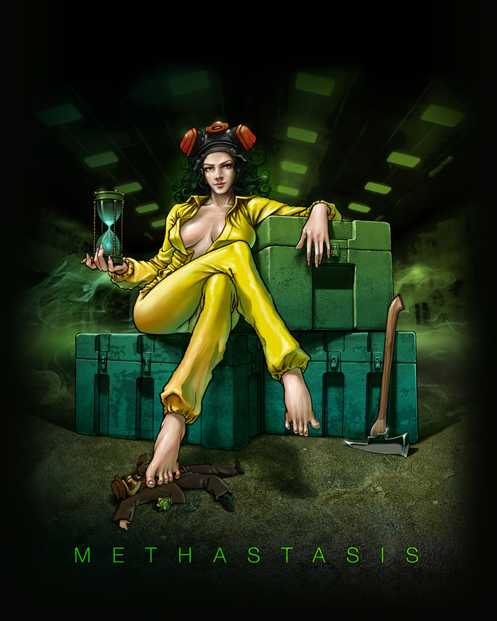 Lady Reaper Art Cover Cd